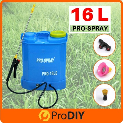 PRO-SPRAY Agricultural Portable Rechargeable Battery Knapsack Chemical Sprayer 16L Pam Racun