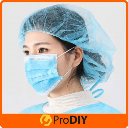 50pcs 3-PLY Disposable Earloop Face Masks Flu Protection, Pollution, Dust, Haze, Germs and Pollen